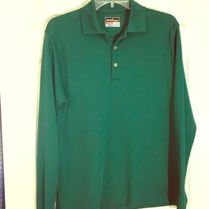 Grand Slam green golf polo small